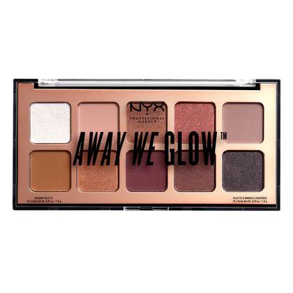 Away We Glow Shadow Palette - Paleta de sombras